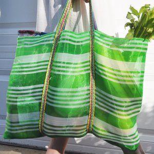 Lulu's She's-My-Regular Mesh Market Tote Bag (Med)